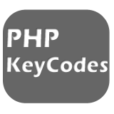 PHP-KeyCodes